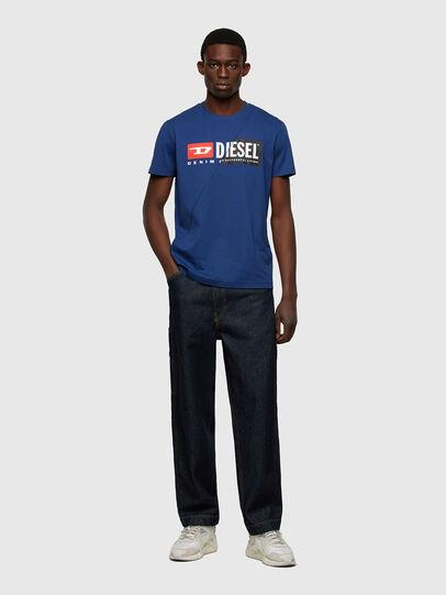 Diesel - T-DIEGO-CUTY, Blue - T-Shirts - Image 4
