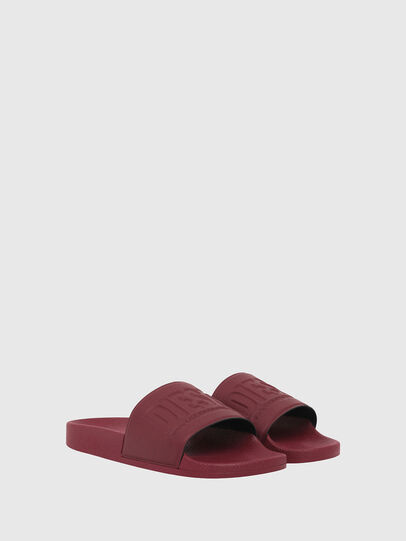 Diesel - SA-VALLA, Bordeaux - Slippers - Image 2