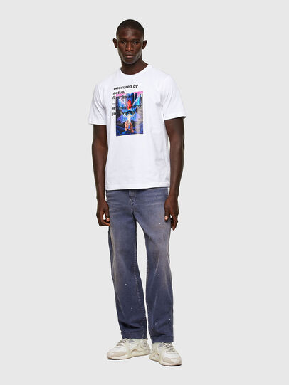 Diesel - T-JUST-A43, White - T-Shirts - Image 4