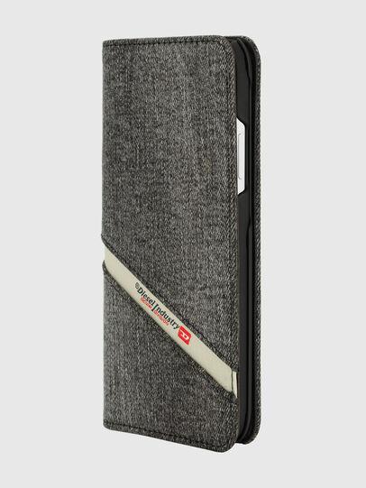 Diesel - DIESEL 2-IN-1 FOLIO CASE FOR IPHONE XR, Grey - Flip covers - Image 3