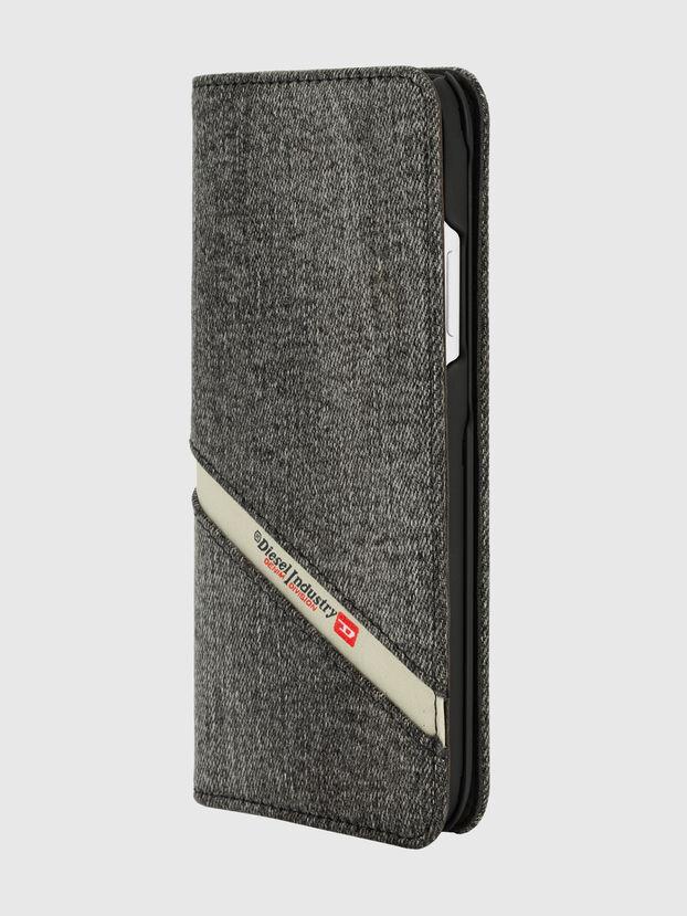 DIESEL 2-IN-1 FOLIO CASE FOR IPHONE XR, Grey - Flip covers