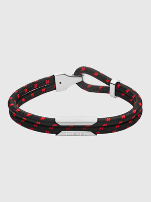 DX1235, Black/Red - Bracelets