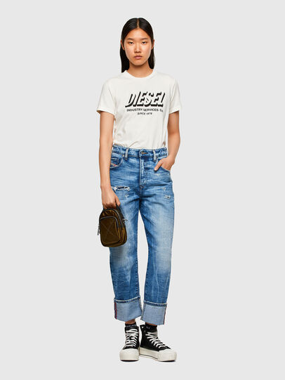 Diesel - T-SILY-R4, White - T-Shirts - Image 4