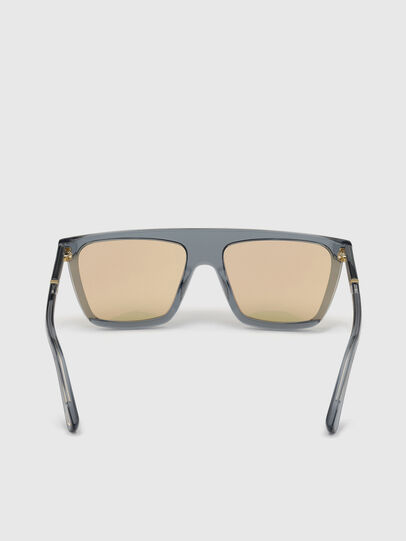 Diesel - DL0323, Black/Yellow - Sunglasses - Image 4