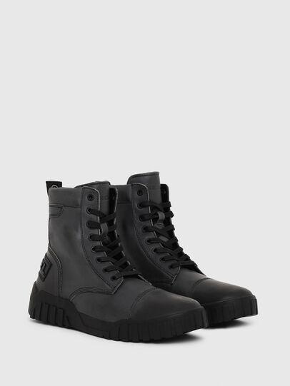 Diesel - H-RUA AM, Dark Blue - Sneakers - Image 3