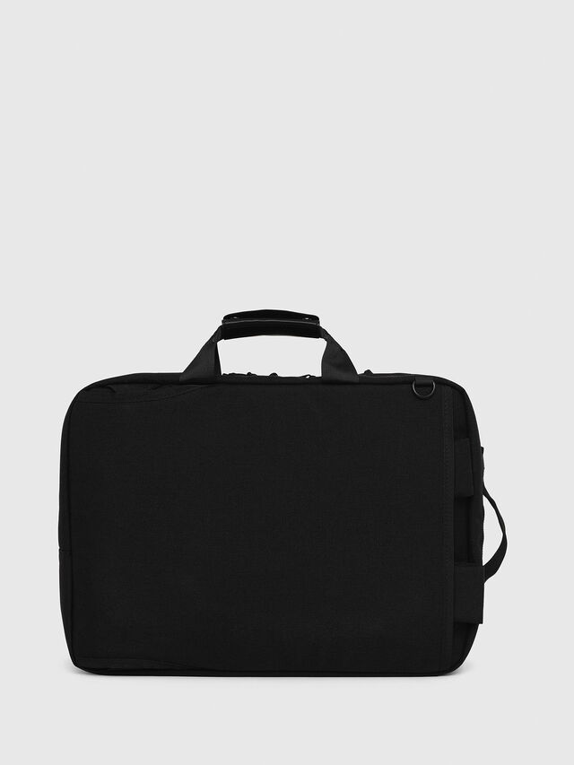 Diesel - F-URBHANITY BRIEFCAS, Black - Briefcases - Image 2