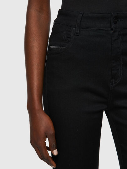 Diesel - Slandy High 069EF, Black/Dark grey - Jeans - Image 3