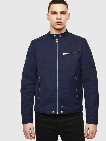 Diesel - J-GLORY, Dark Blue - Jackets - Image 6