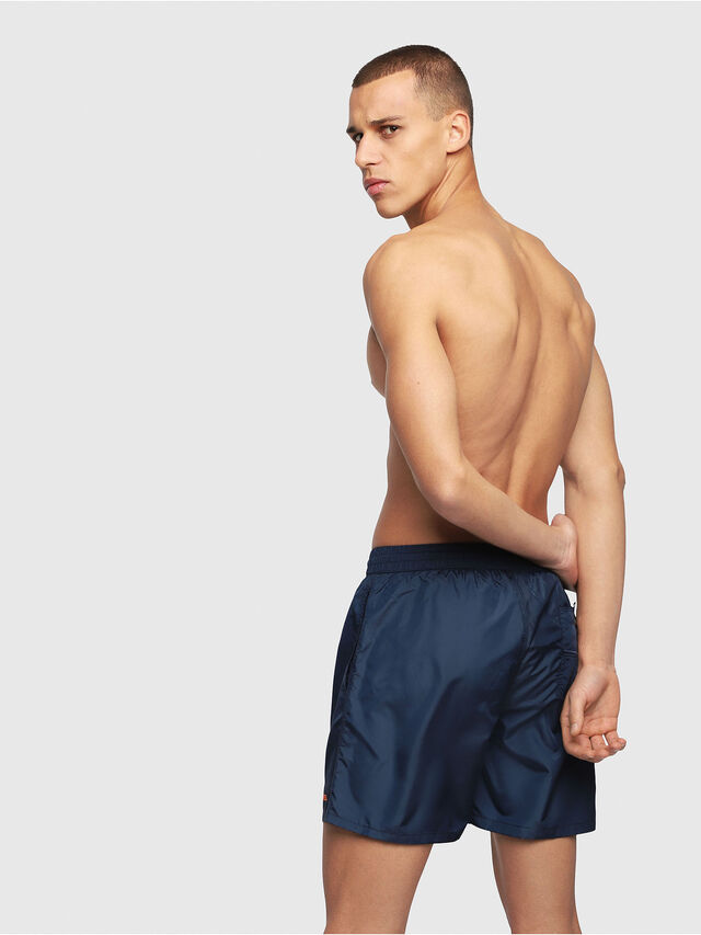Diesel - BMBX-WAVE 2.017, Navy Blue - Swim shorts - Image 2