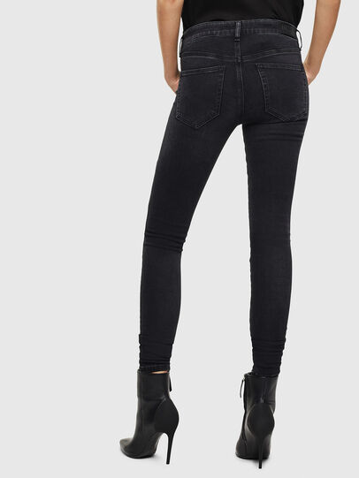Diesel - Slandy 069JW, Black/Dark grey - Jeans - Image 2
