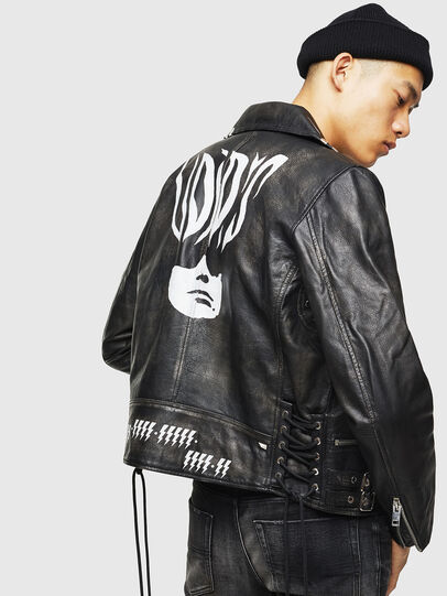 Diesel - L-GOTIV-A,  - Leather jackets - Image 2