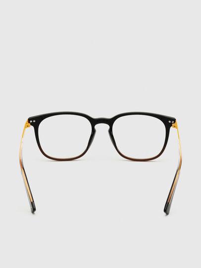 Diesel - DL5349, Black/Yellow - Eyeglasses - Image 4