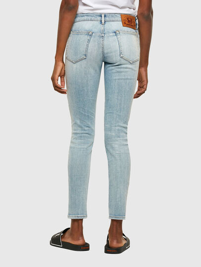 Diesel - D-Jevel 009PQ, Light Blue - Jeans - Image 2