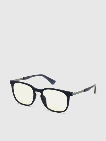 Diesel - DL0311, Dark Blue - Sunglasses - Image 2