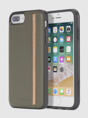 ZIP OLIVE LEATHER IPHONE 8/7/6s/6 CASE, Olive Green - Cases