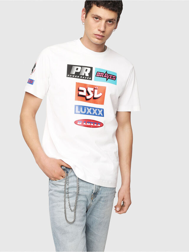 Diesel - T-JUST-YA, White - T-Shirts - Image 1