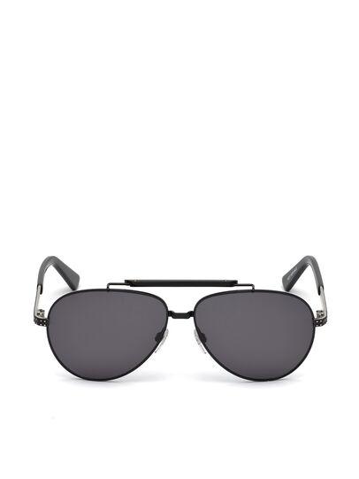 Diesel - DL0238, Black - Sunglasses - Image 1