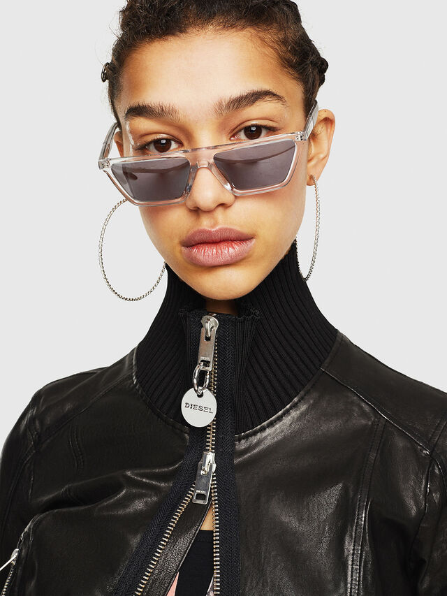 Diesel - L-LYS-B, Black - Leather jackets - Image 3