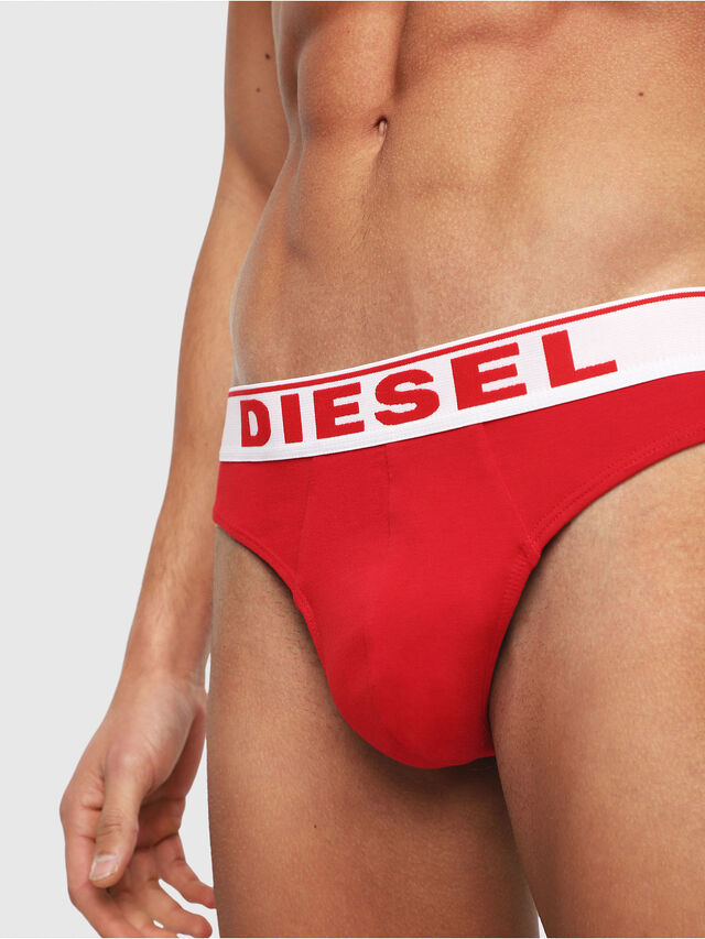 Diesel - UMBR-STRING, Red - Briefs - Image 3