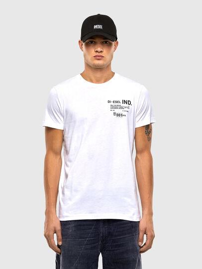 Diesel - T-DIEGOS-N21, White - T-Shirts - Image 1