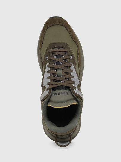 Diesel - S-SERENDIPITY LC, Olive Green - Sneakers - Image 7