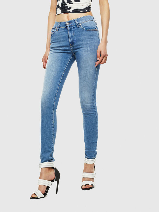D-Roisin 0094X, Light Blue - Jeans