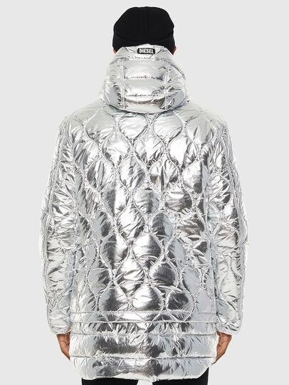 Diesel - W-CRAWFORD, Silver - Winter Jackets - Image 2