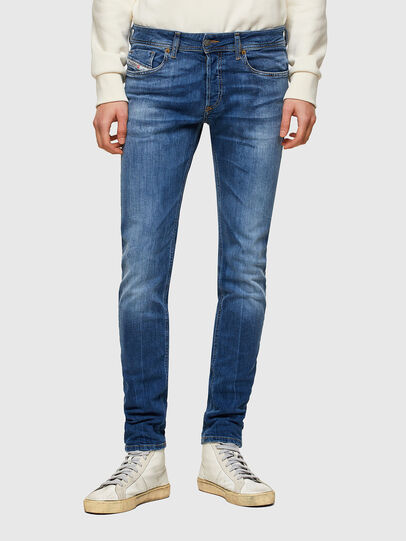 Diesel - Sleenker 009PK, Medium blue - Jeans - Image 1