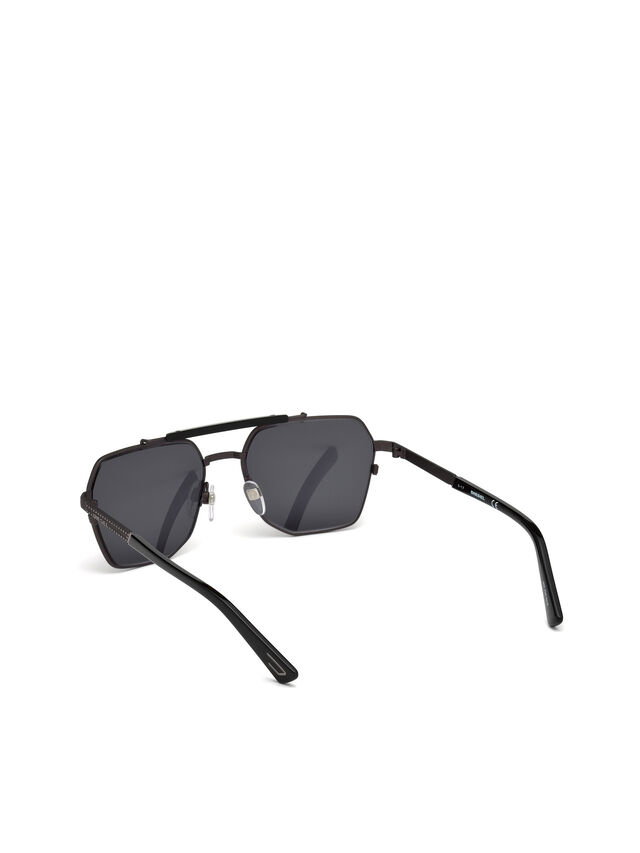 Diesel - DL0256, Black - Sunglasses - Image 4