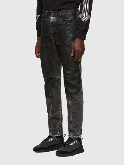Diesel - D-Vider 009QZ, Black/Dark grey - Jeans - Image 7