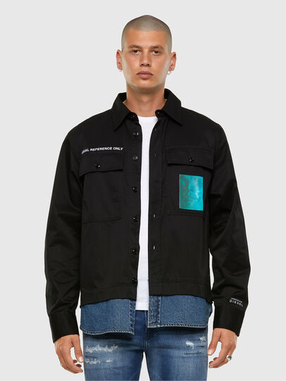Diesel - S-DUSTIN, Black - Shirts - Image 7