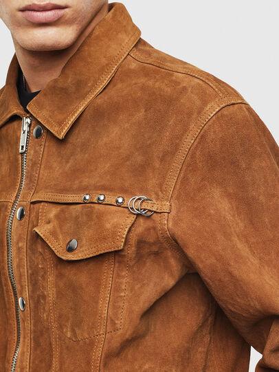 Diesel - L-DEAN,  - Leather jackets - Image 4