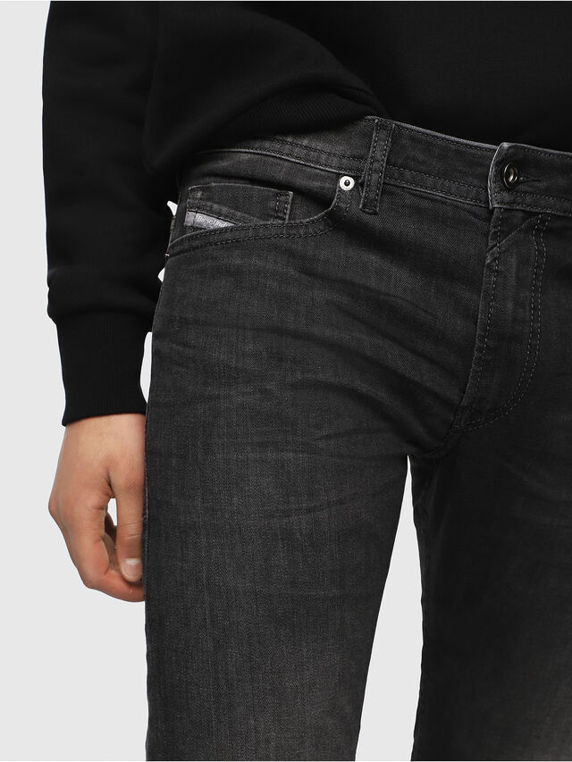 Diesel - Thommer 0687J, Black/Dark grey - Jeans - Image 3