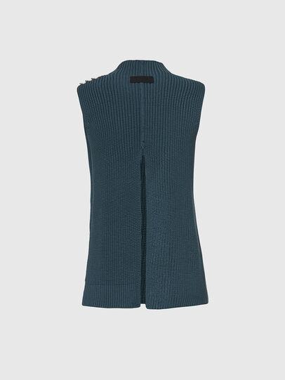 Diesel - M-ESSIE, Water Green - Knitwear - Image 2