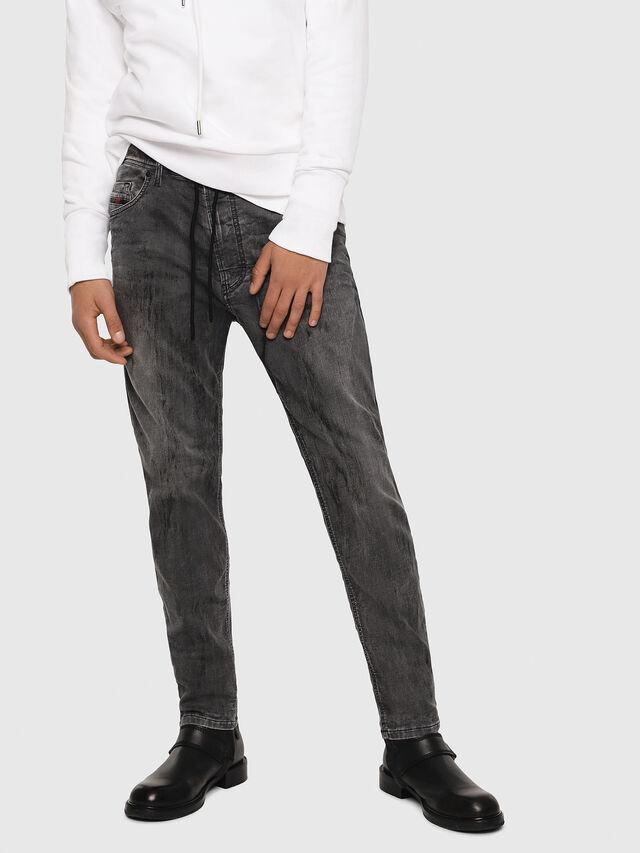 Diesel - Narrot JoggJeans 8880U, Black/Dark grey - Jeans - Image 1
