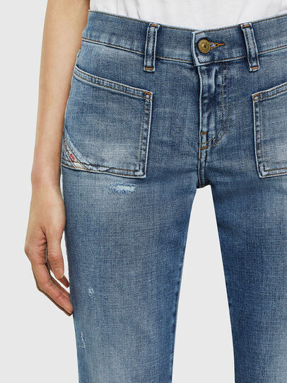 Diesel - D-Ebbey 0099M, Medium blue - Jeans - Image 3