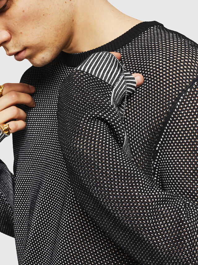 Diesel - K-NEST, Black - Knitwear - Image 5