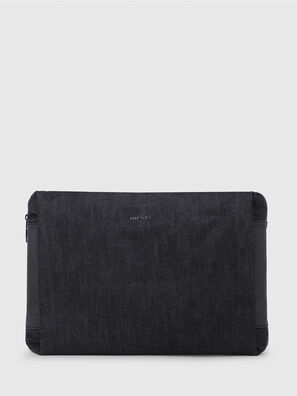 D-SUBTORYAL CLUTCH, Blue Jeans - Clutches
