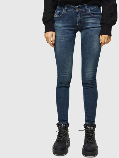 Diesel - Slandy Low 069KW, Dark Blue - Jeans - Image 1