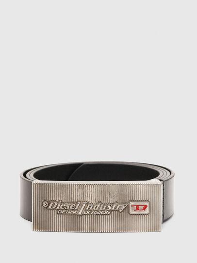 Diesel - B-PIASTRY, Black - Belts - Image 1