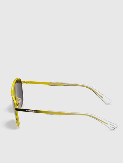 Diesel - DL0325, Black/Yellow - Sunglasses - Image 3