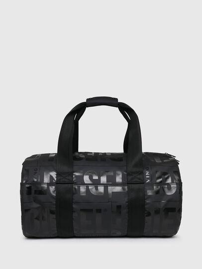 Diesel - X-BOLD DUFFLE, Black - Travel Bags - Image 1