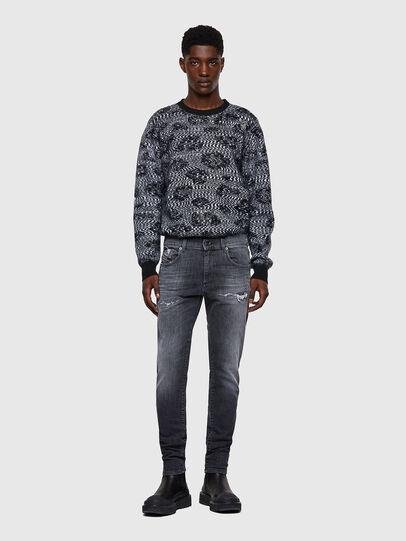Diesel - D-Strukt JoggJeans® 009QT, Black/Dark grey - Jeans - Image 5