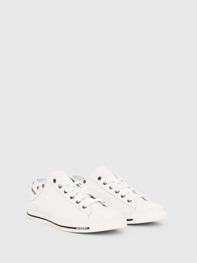 Diesel EXPOSURE LOW I, White - Sneakers - Image 2