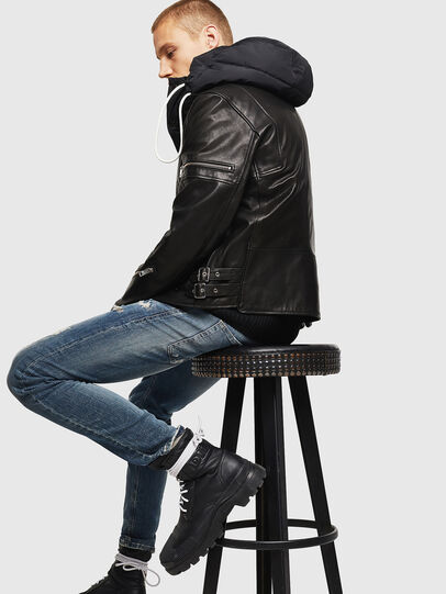 Diesel - L-TOVMAS,  - Leather jackets - Image 7