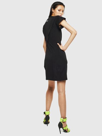 Diesel - D-ATRIX, Black - Dresses - Image 2