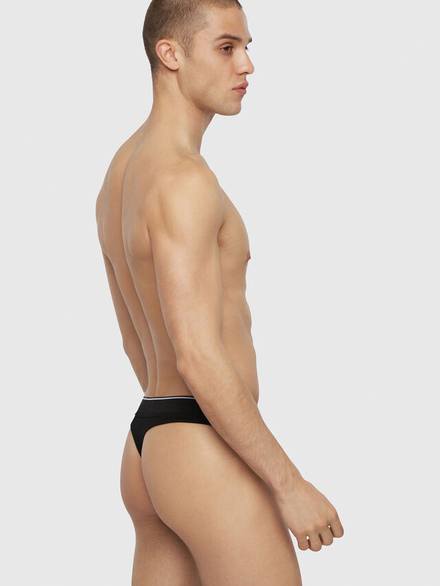 Diesel - UMBR-STRING, Black - Briefs - Image 2