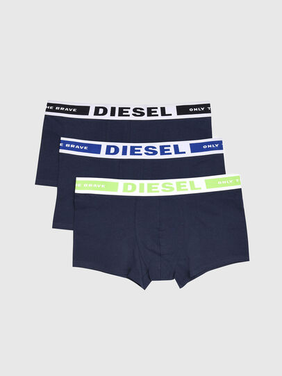 Diesel - UMBX-KORYTHREEPACK, Navy Blue - Trunks - Image 1
