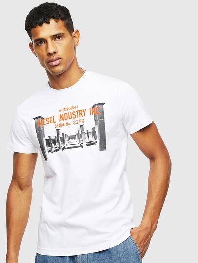 Diesel - T-DIEGO-S13, White - T-Shirts - Image 1