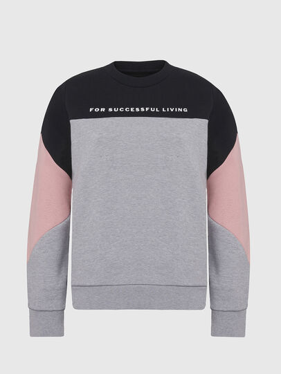 Diesel - UFLT-PHYLOSH, Gray/Black - Sweaters - Image 1
